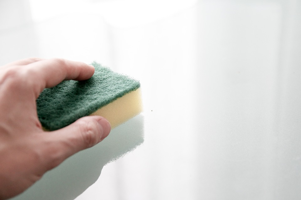 clean the walls yourself