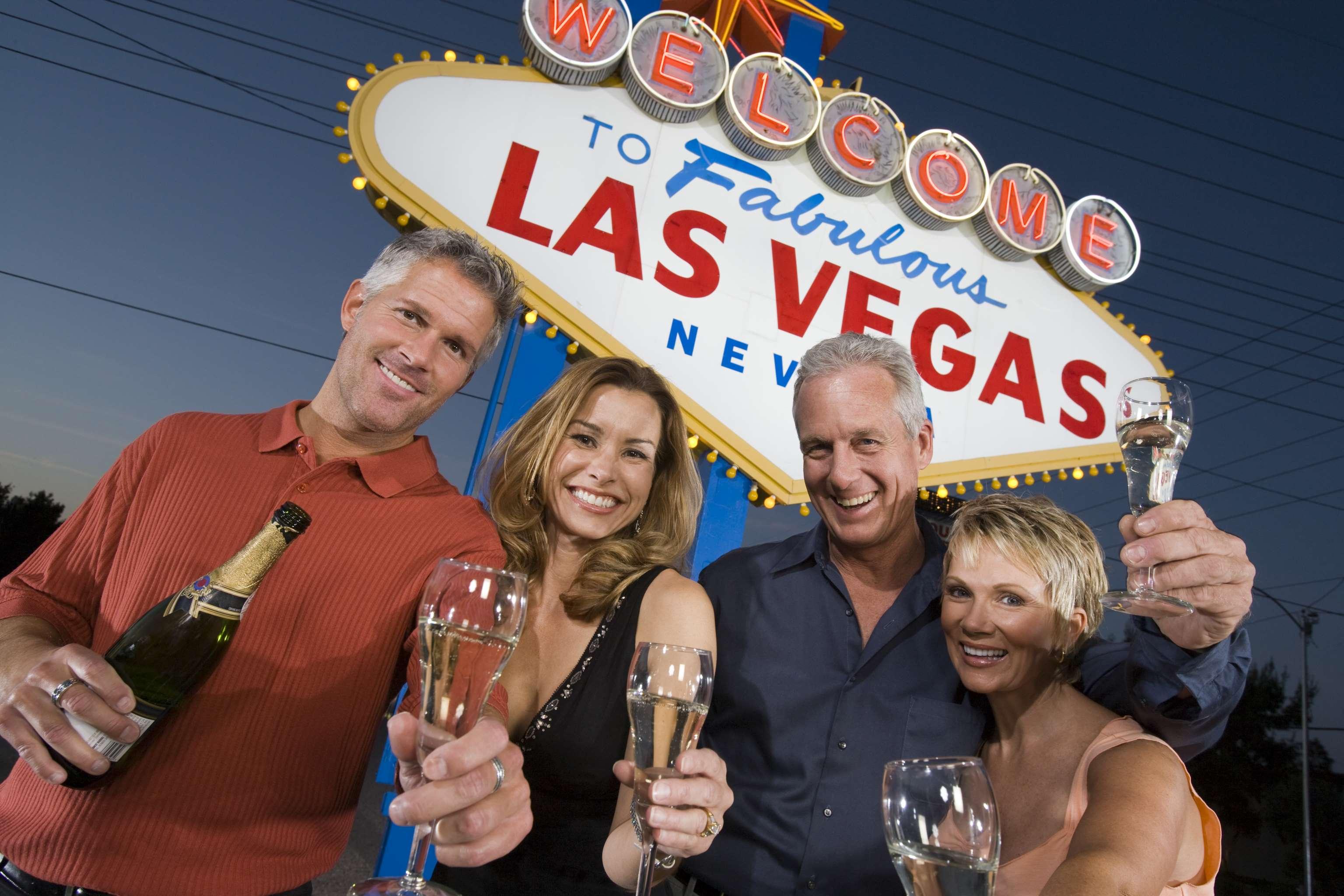 Friends in Las Vegas
